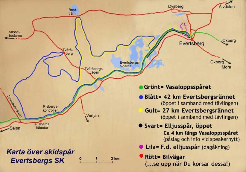 Längdspår Evertsberg