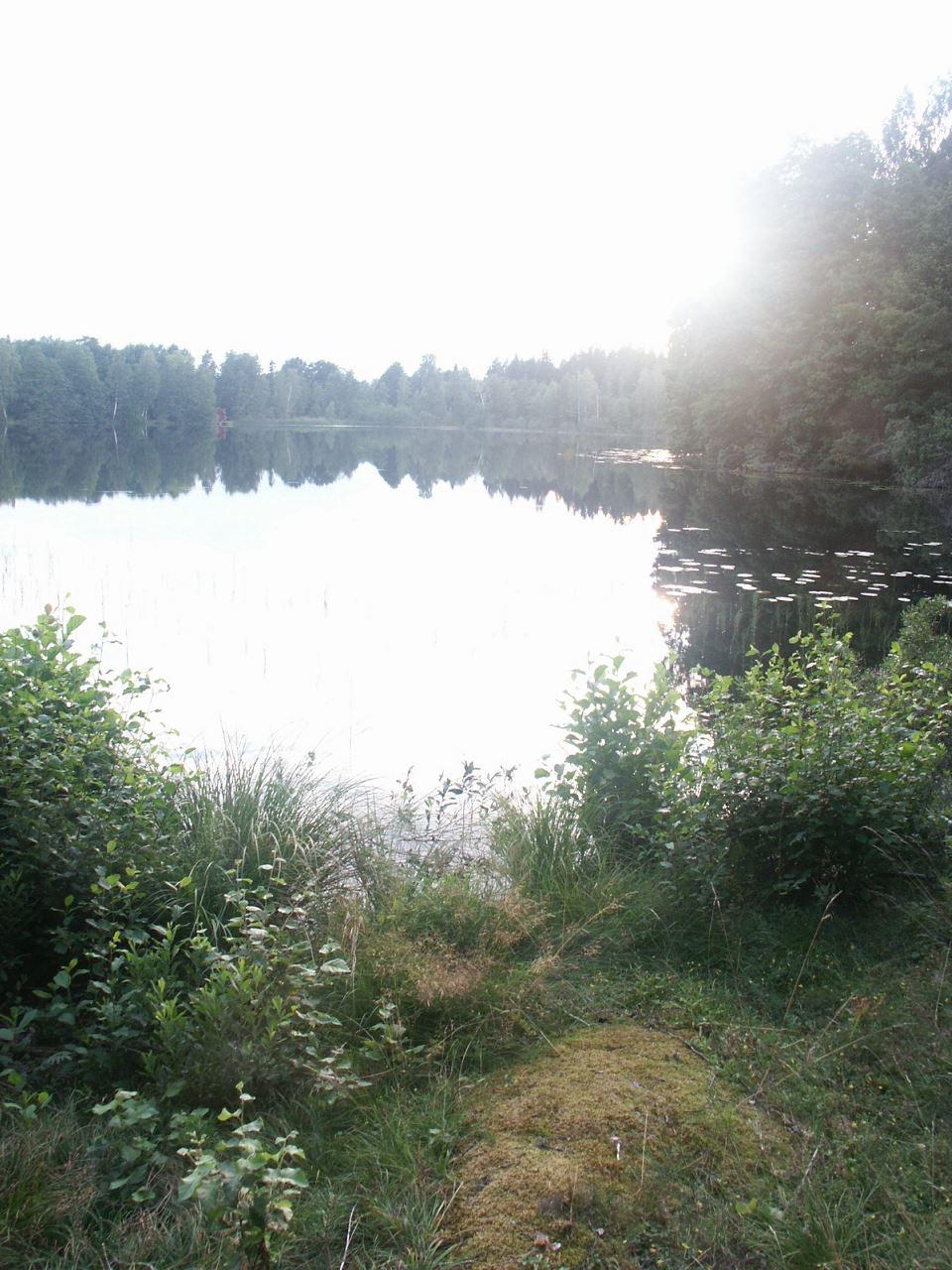 Krokshult rural area hiking trail