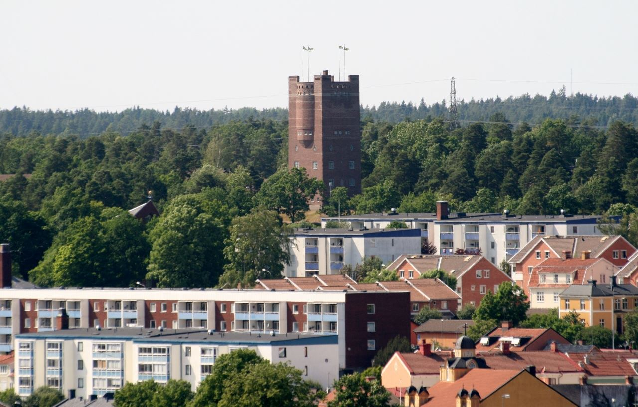 The water tower in Oskarshamn