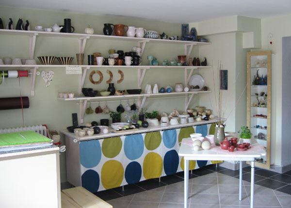 Keramikateljén (Pottery studio)