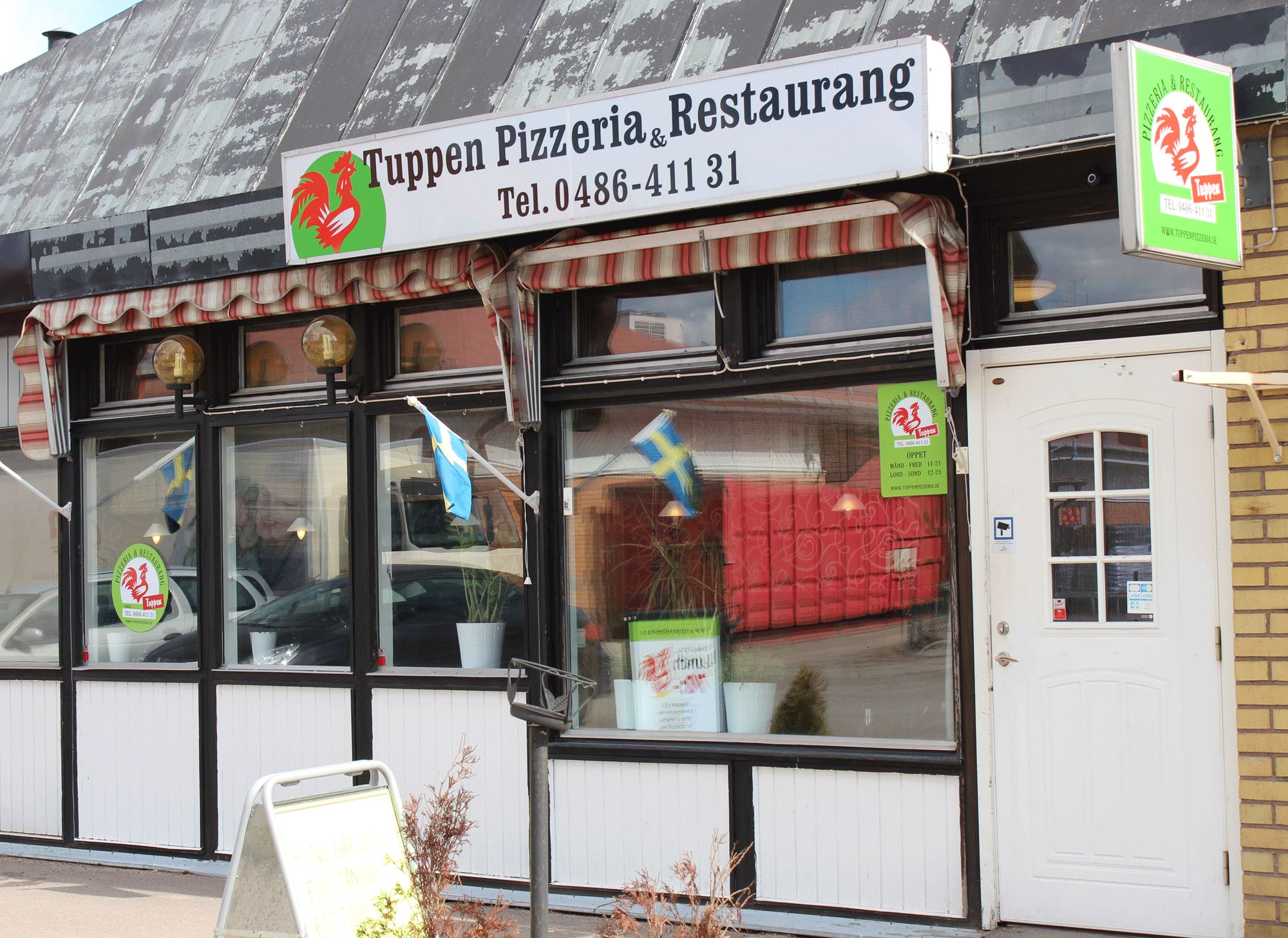 Tuppen restaurant and pizzeria