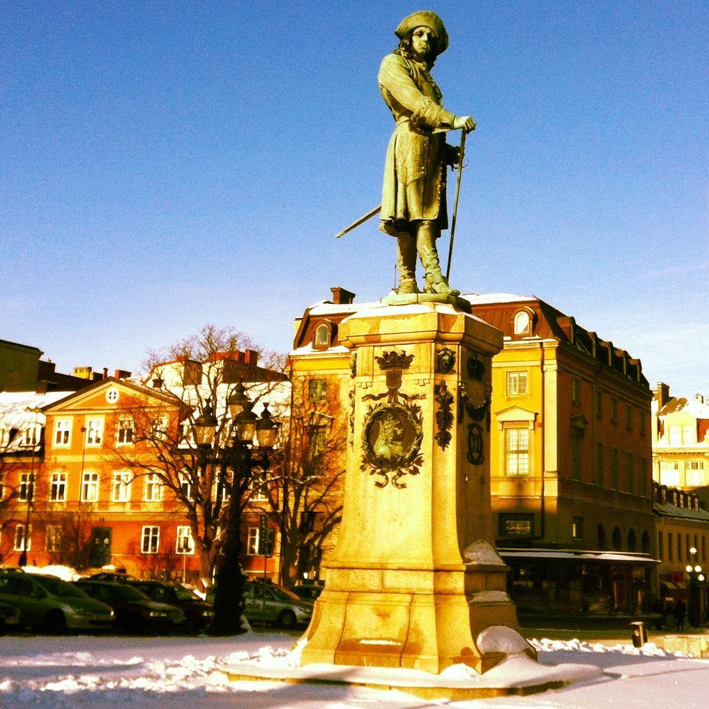 Statue - Karl XI