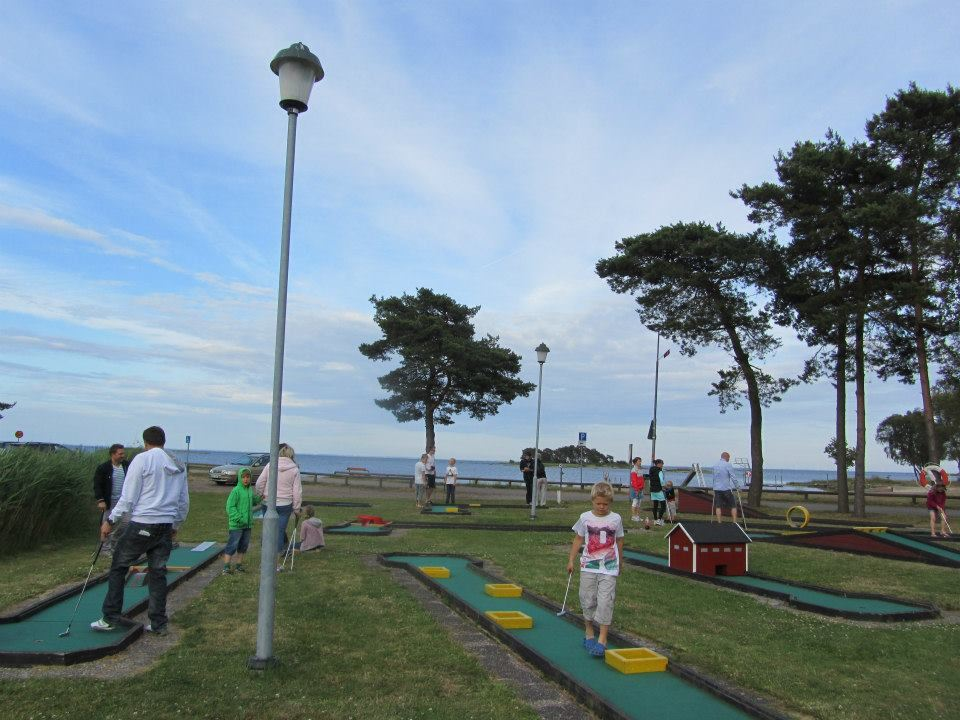 Miniature golf at Dalskärs Camping