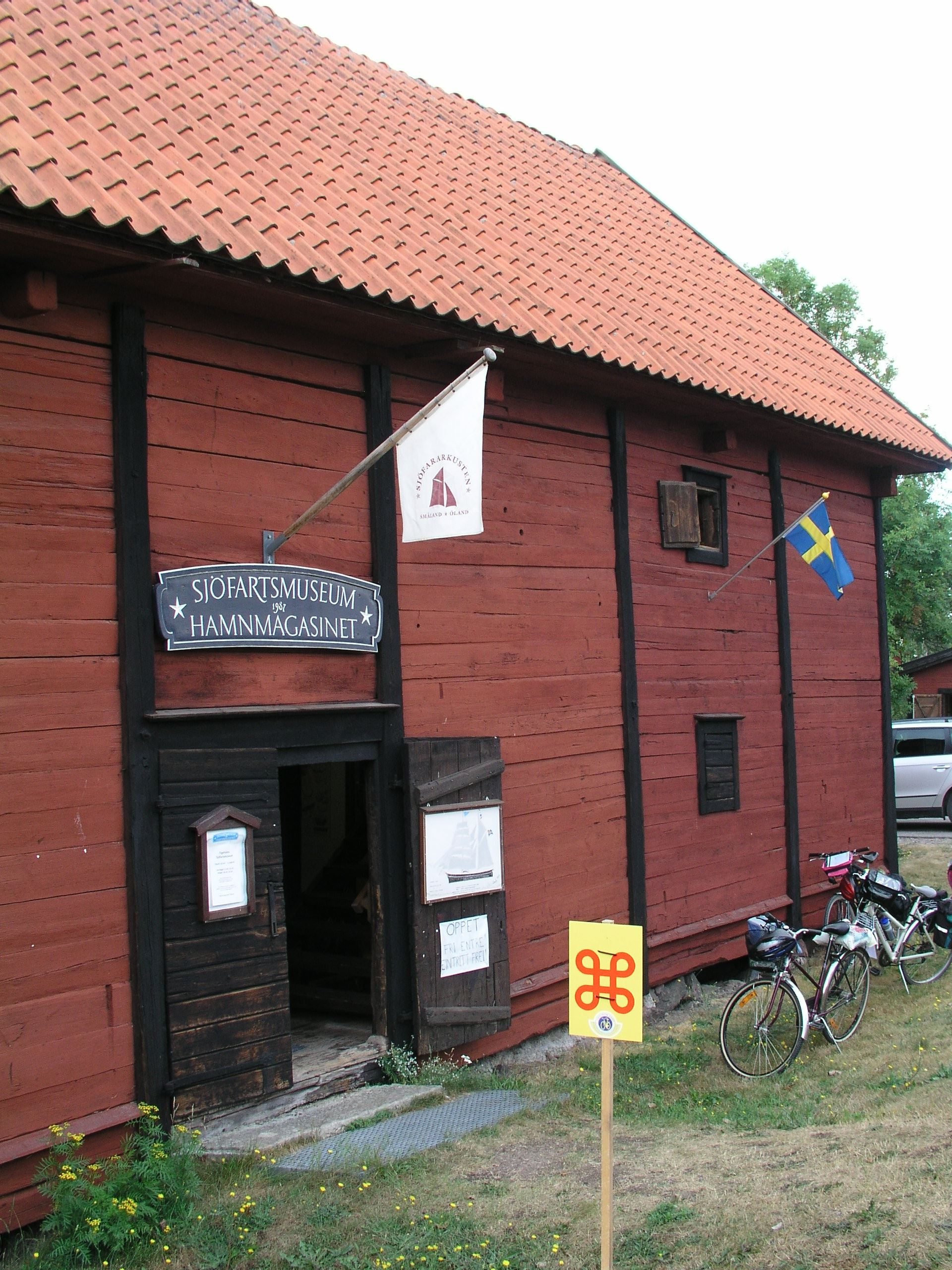 Figeholm Marine Museum, Harbour Warehouse