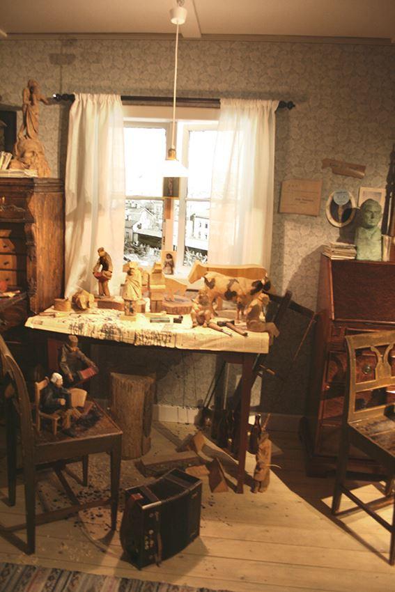 Döderhultarn's studio