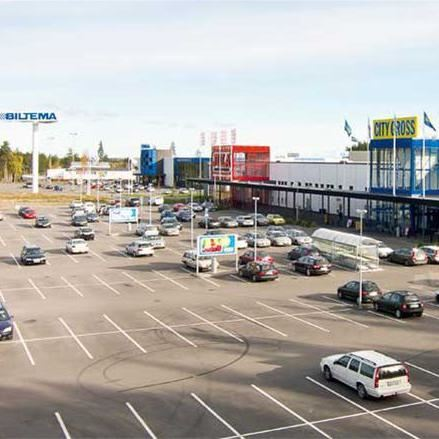 Albin Bogren, Hemlingby köpcentrum