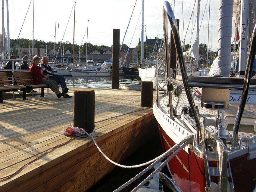Brädholmen guest harbour