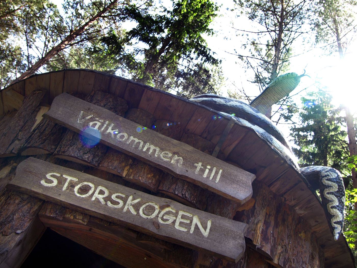 Upplevelsespåret Storskogen