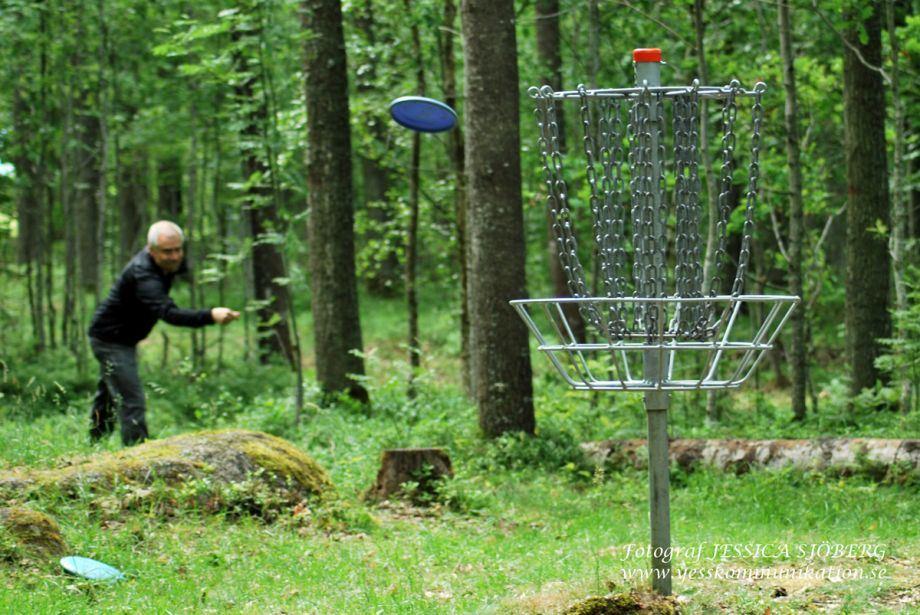 Frisbeegolfbana