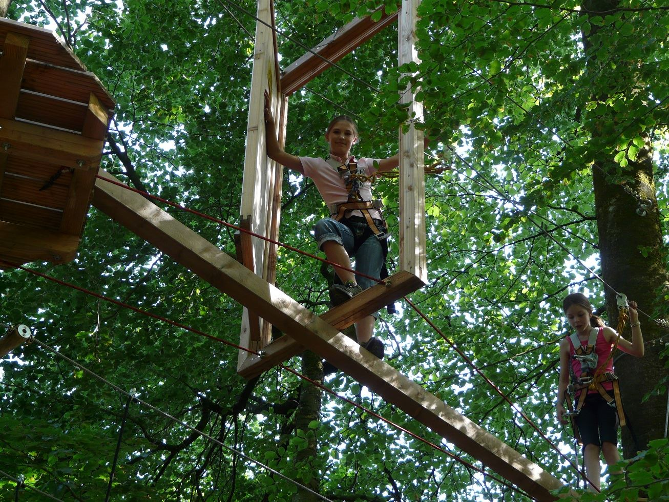 Isaberg,  © Isaberg, Tree top Adventure