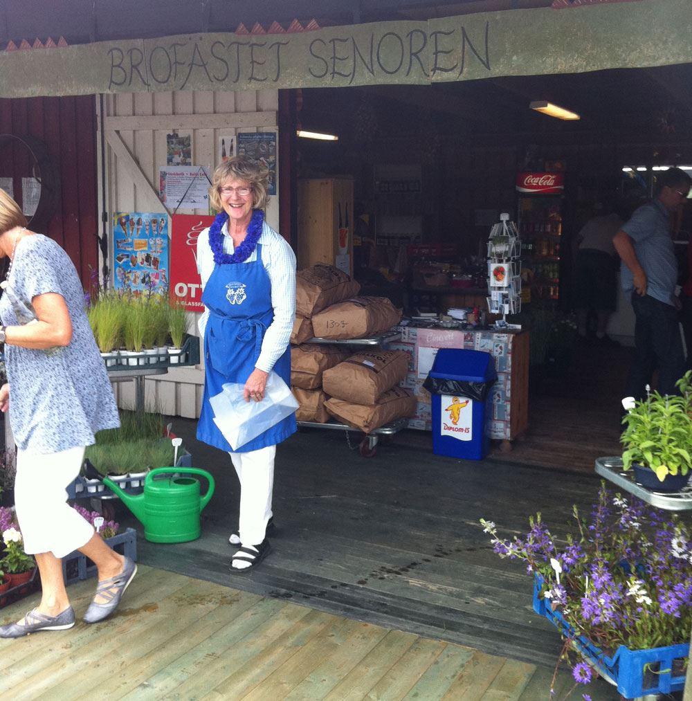Brofästet Senoren farmshop & Baltic café