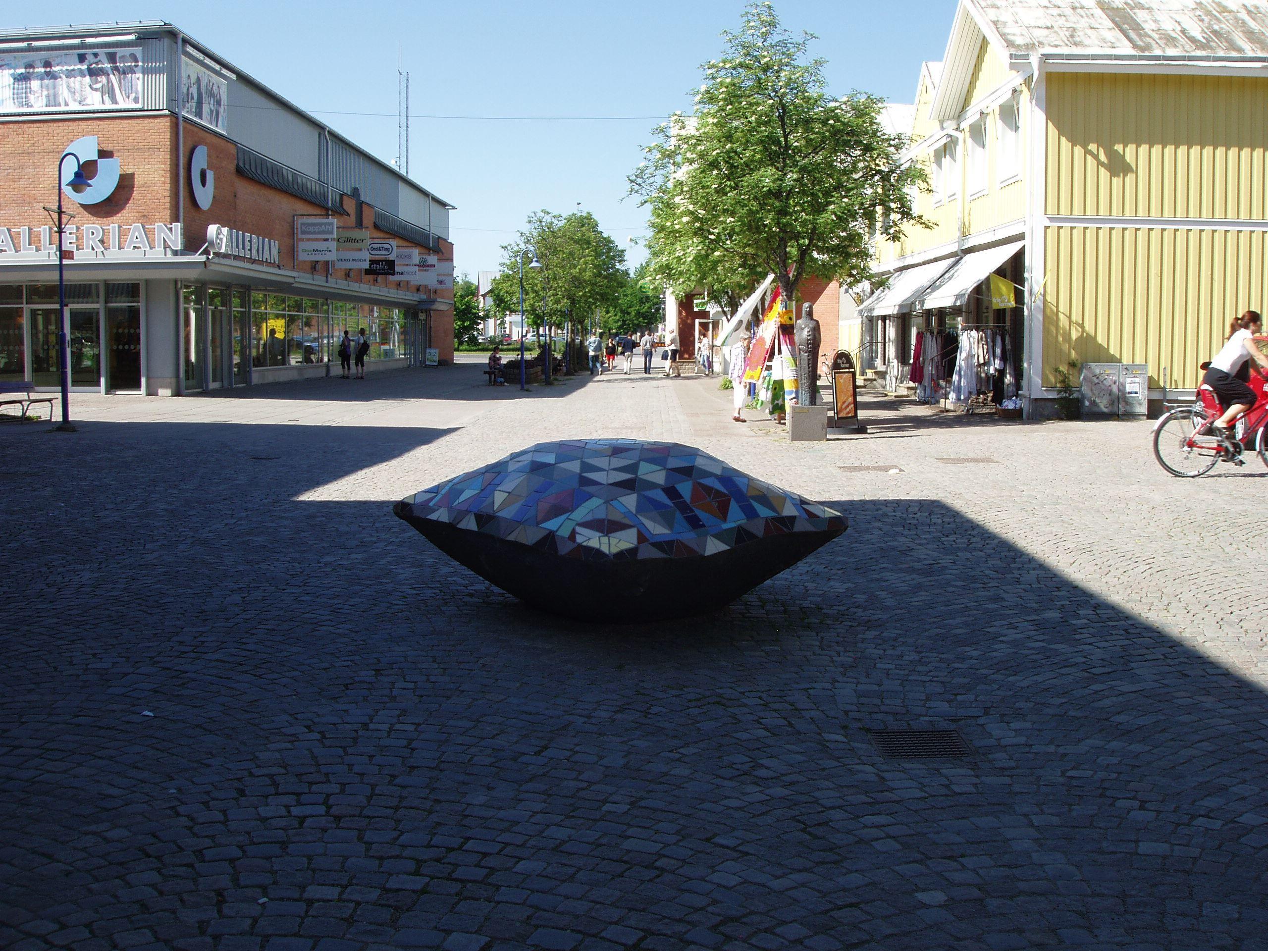 © Vetlanda Turistbyrå, Samlingsplats: Bibliotekstorget