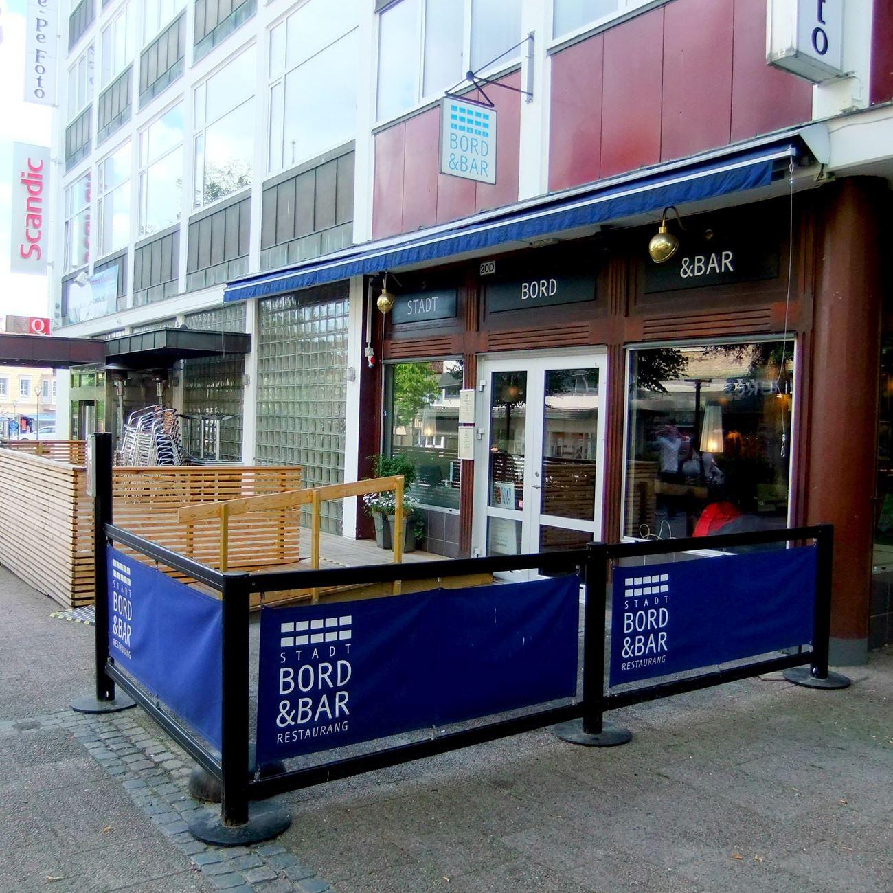 Foto: Maria Grahn,  © Värnamo Näringsliv AB , Uteservering hos Stadt Bord & Bar