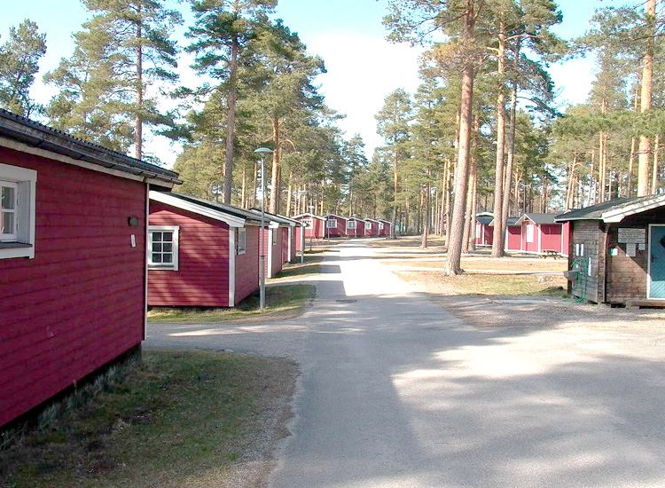 Moheds Camping, Stugor i Söderhamn.