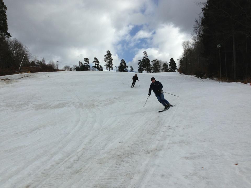 Skifahren - Rödeby Ski piste