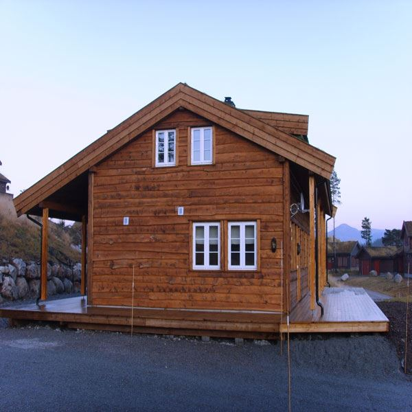 Løefjell 23A, vertically divided house (9 people)