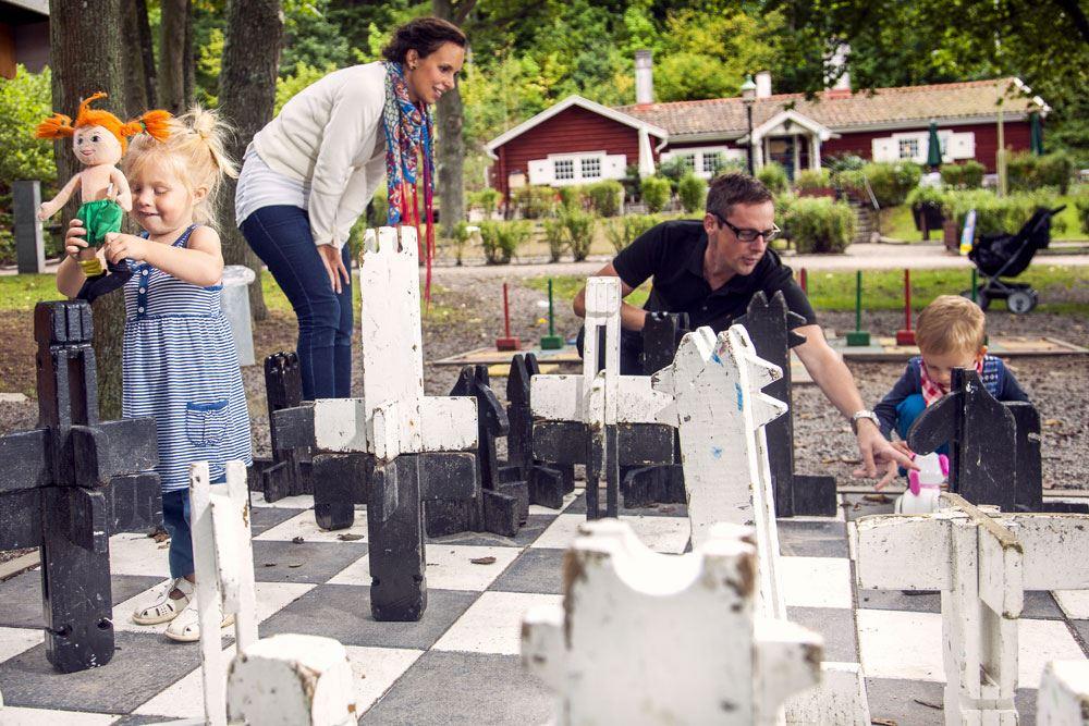 Outdoor chess - Wämöparken