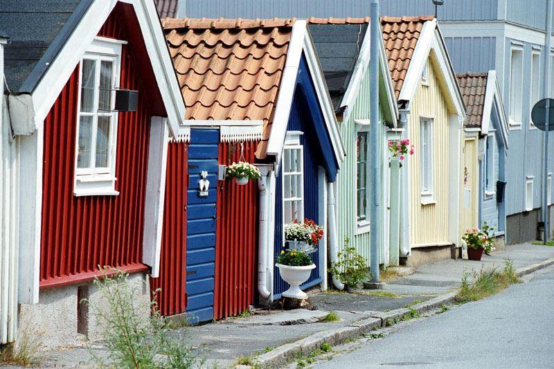 Hütten in Björkholmen