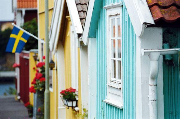 Cottages on Björkholmen