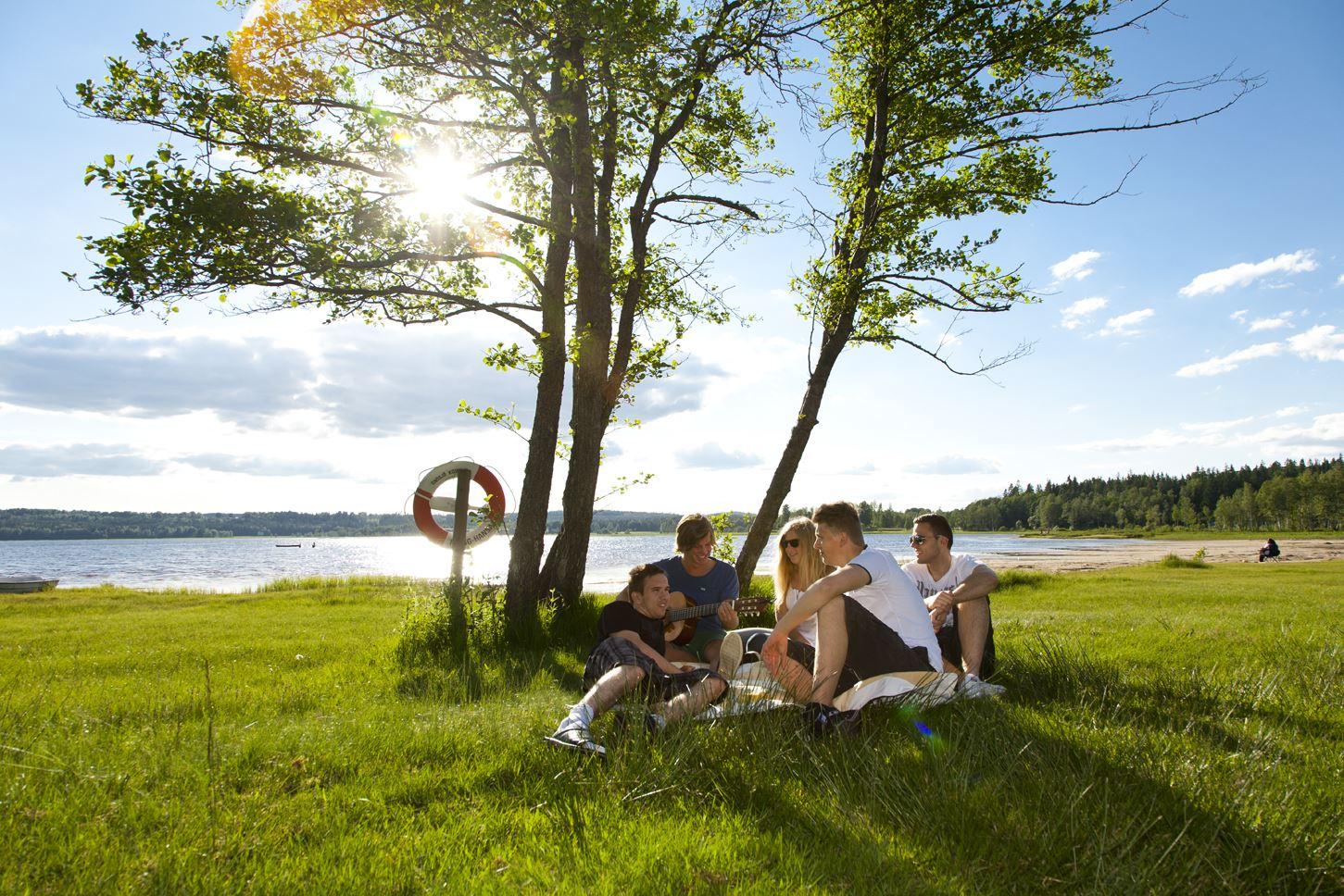 Flatenbadets Stugor & Camping - Cabbins & Campsite
