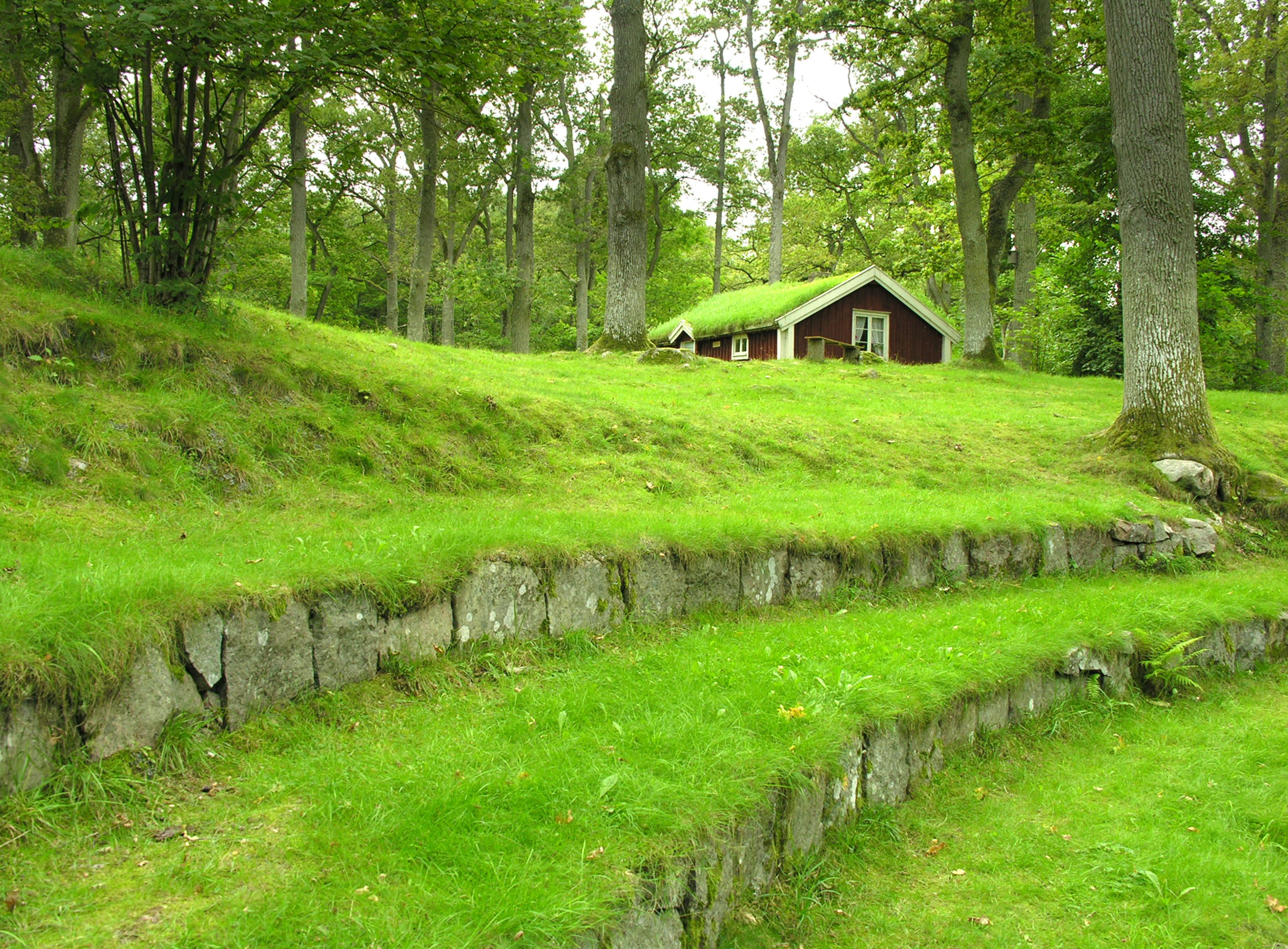 Johan Blomqvist, Ekbacken - Amphitheater in a historical environment