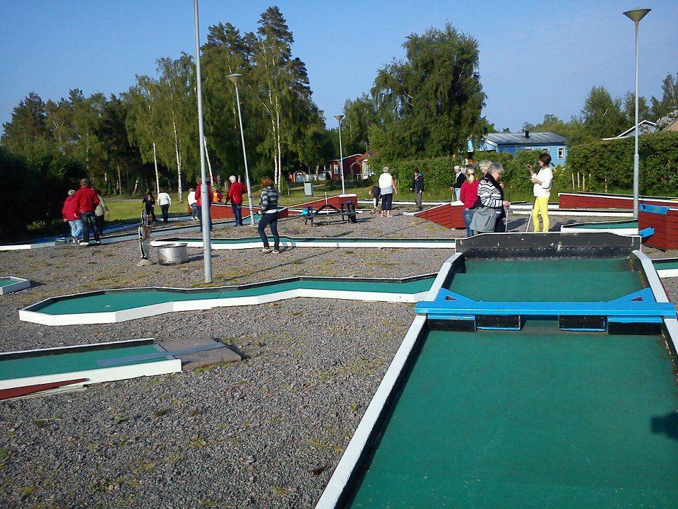 Skeppeviks Camping, Miniature golf at Skeppeviks Camping