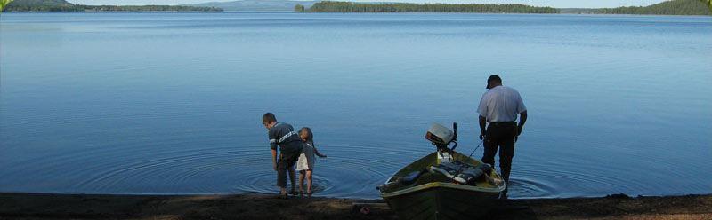 Camping i Järvsand