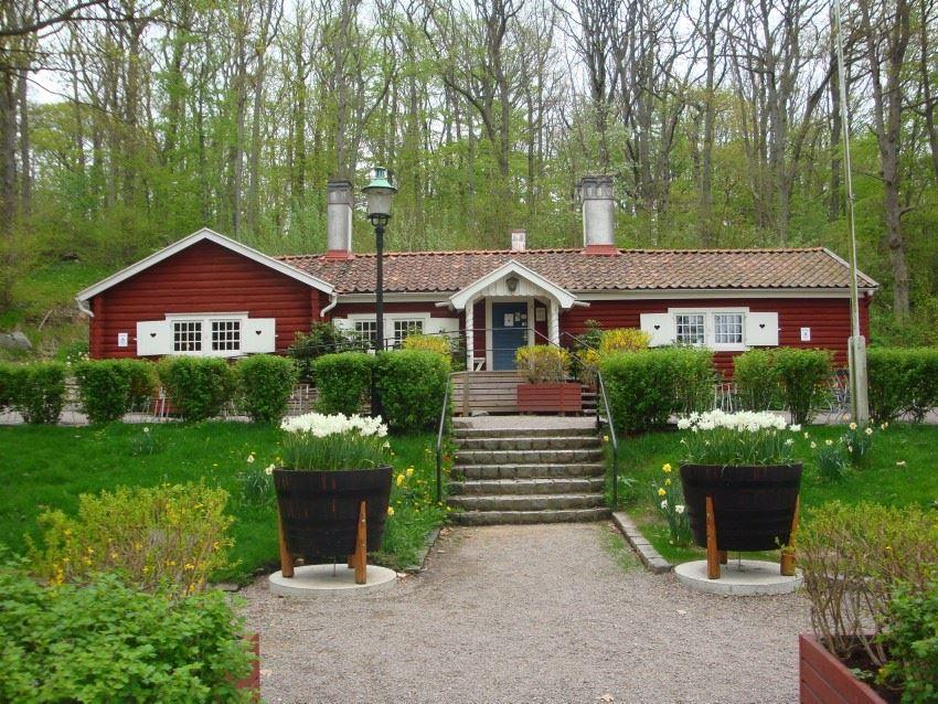 Kaffestugan i Vämöparken - The coffee-cottage