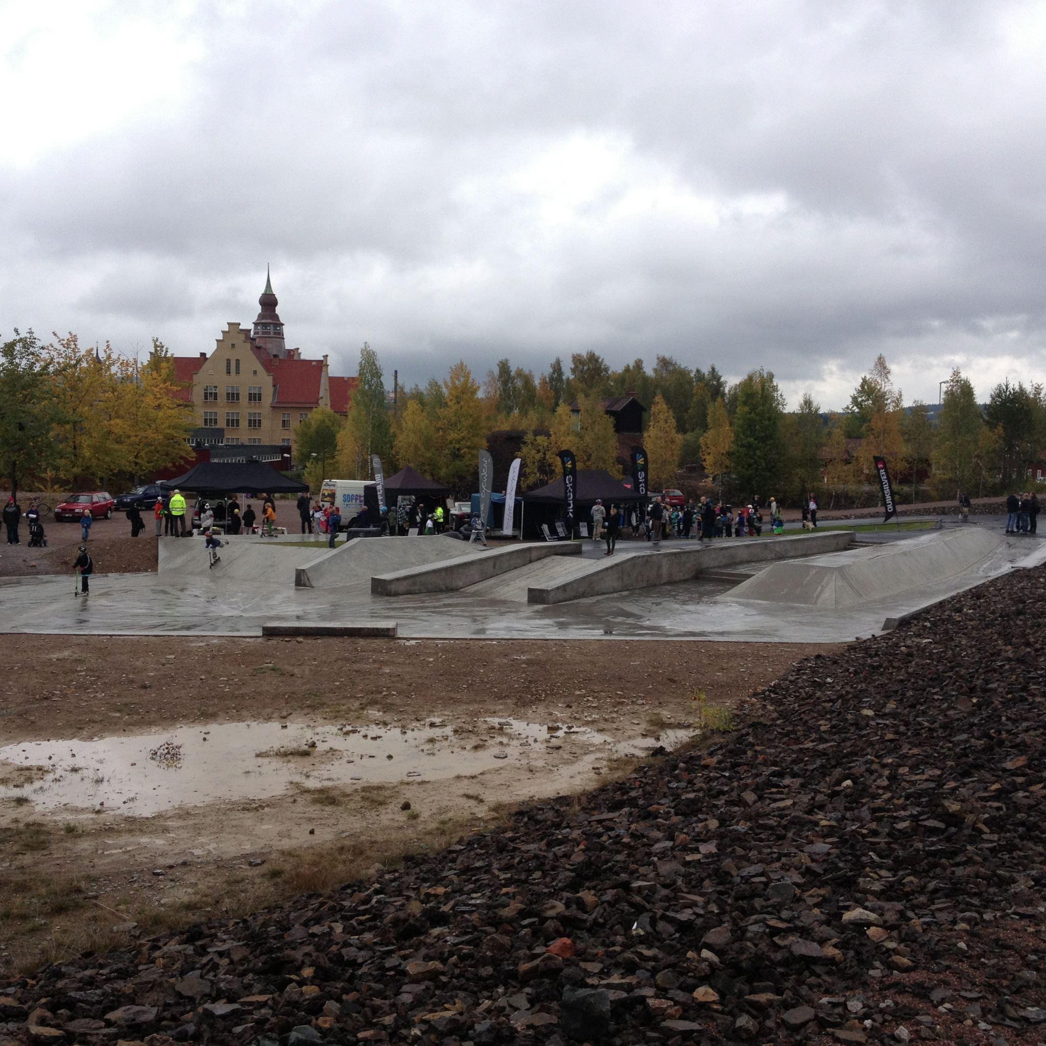 Hyttgårdsparken - Skatepark