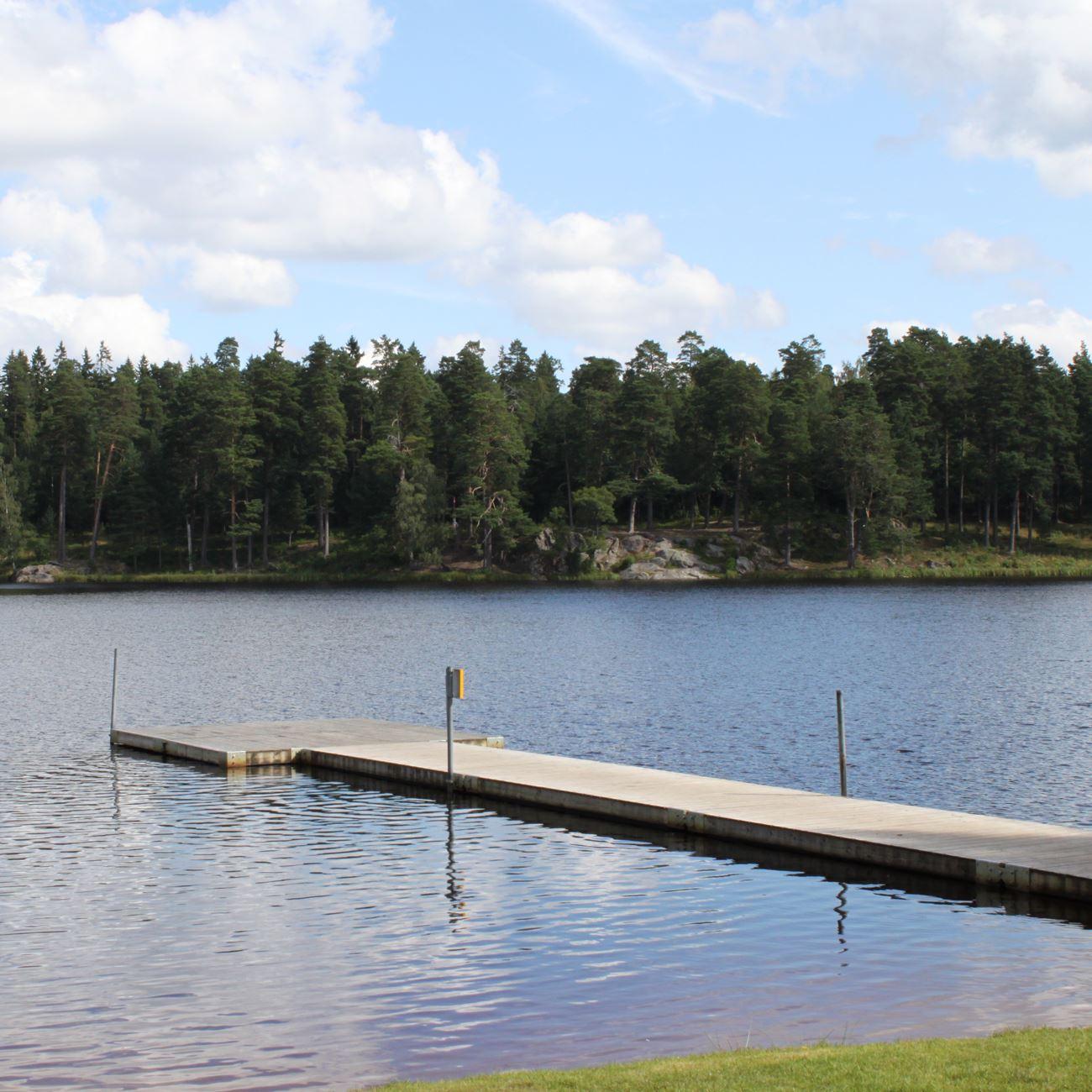 Värnamo Näringsliv AB,  © Värnamo Näringsliv AB , Badplats vid Prostsjön