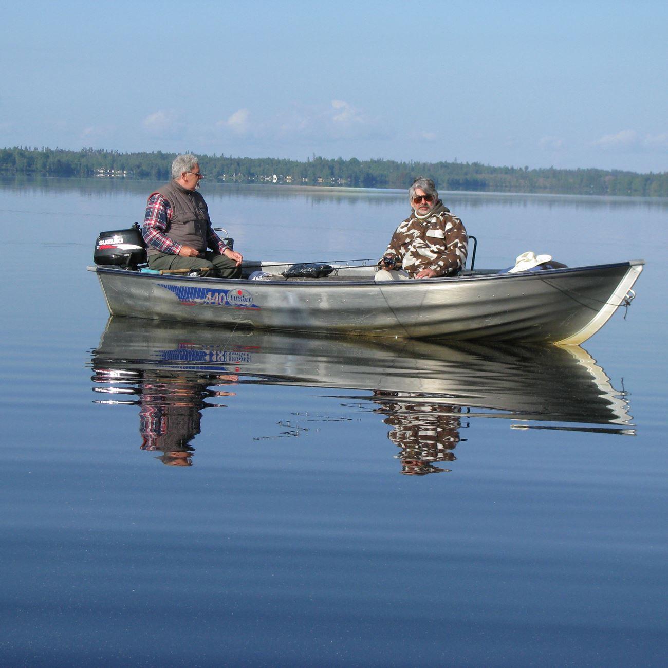 Foto: Liljenäs Natur & Fritid,  © Värnamo Näringsliv AB , Fiske i sjön Bolmen