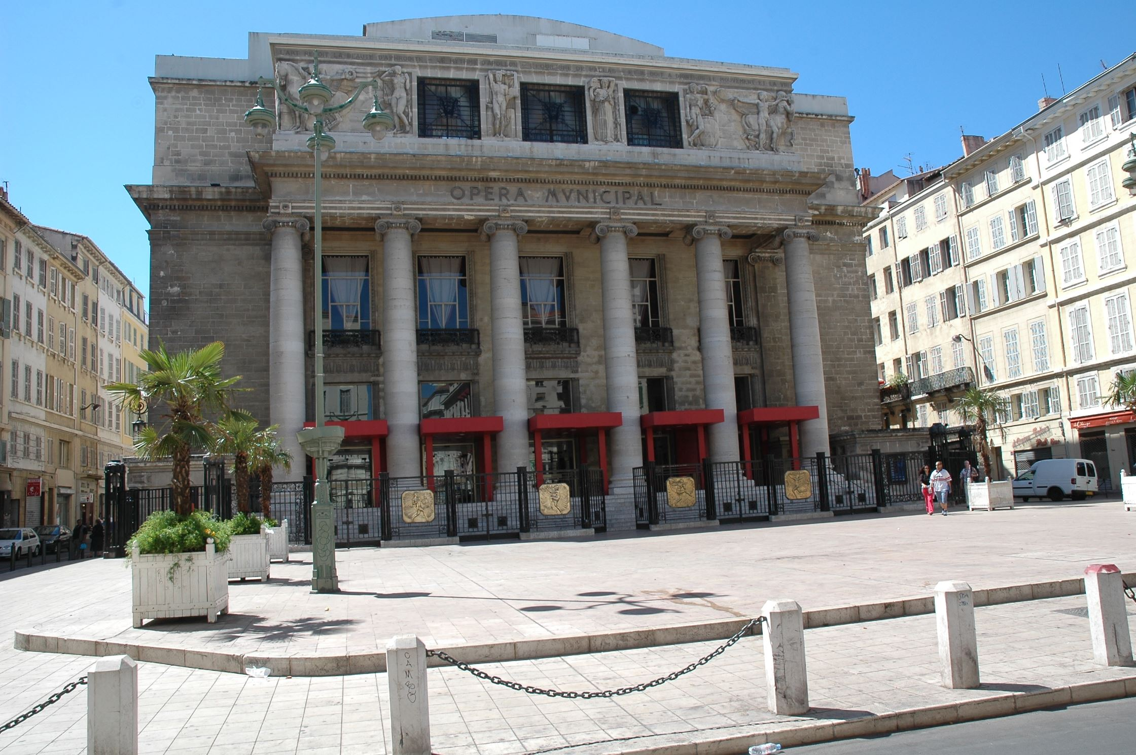 L'Opéra et son atelier de couture