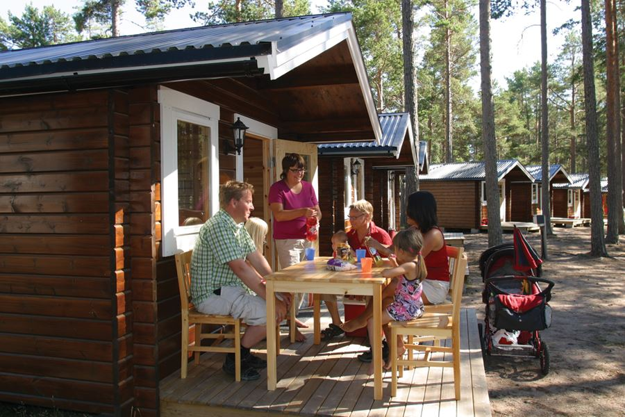 Norrfällsvikens Camping & Stugby / Ferienhäuser
