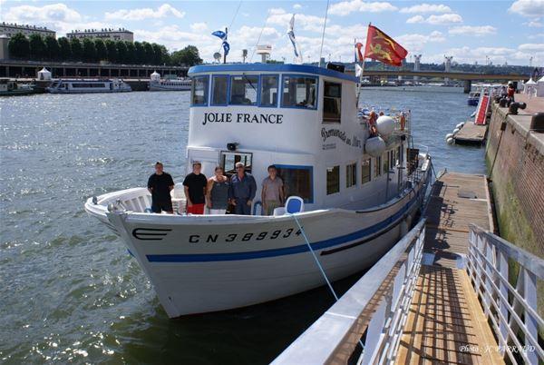 """Croisière Journée à bord du """"Jolie France"""""""