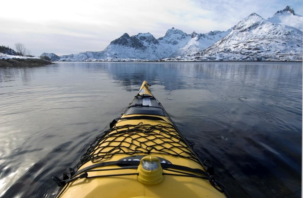 © Terje Rakke, Vinterkajakktur i Lofoten