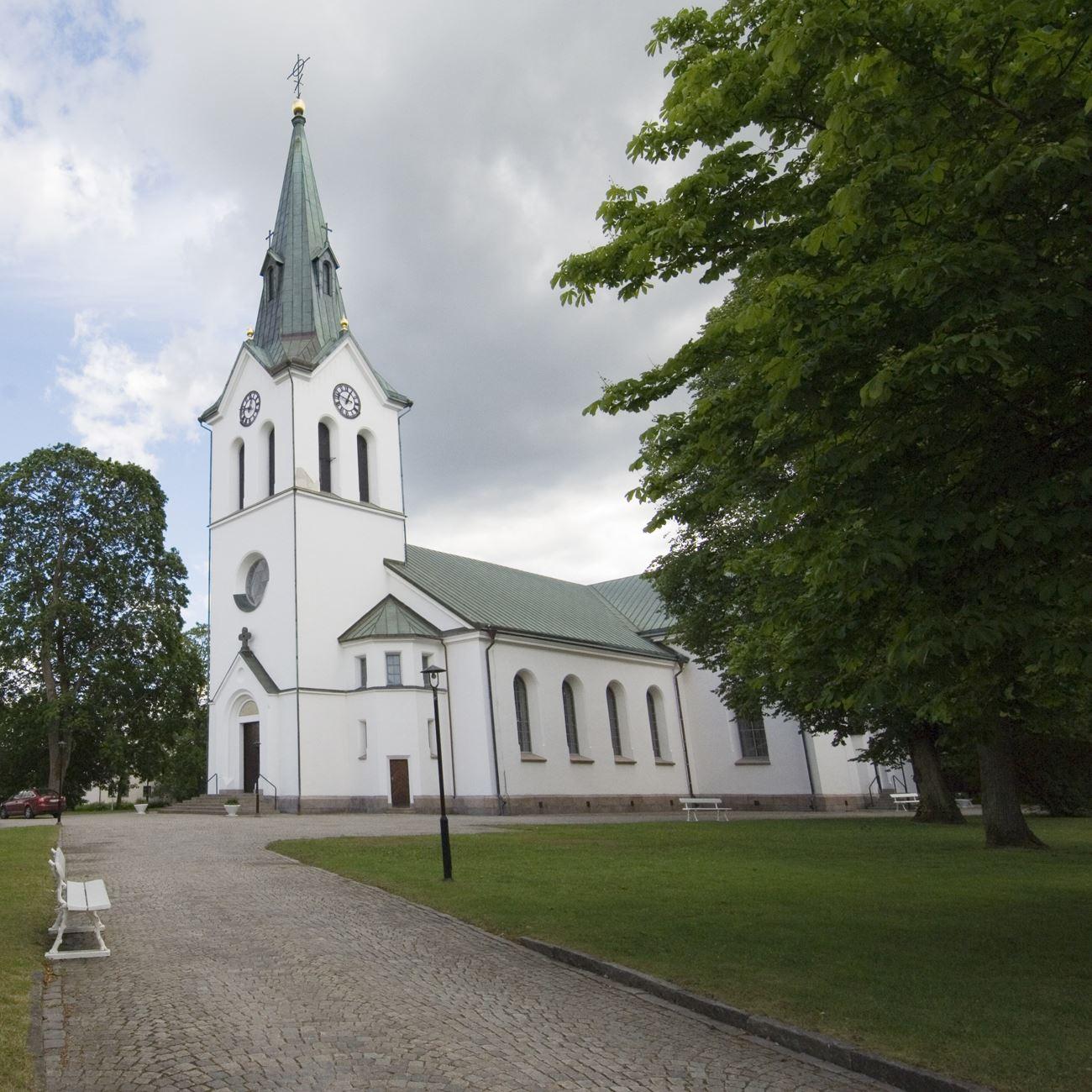 Foto: Smålandsbilder.se,  © Värnamo Näringsliv AB , Värnamo Kyrka