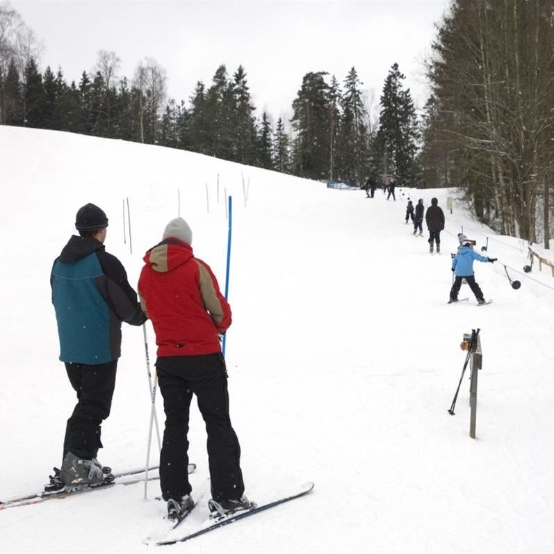 Alandsrydsbacken - Alpine skiing in Värnamo!