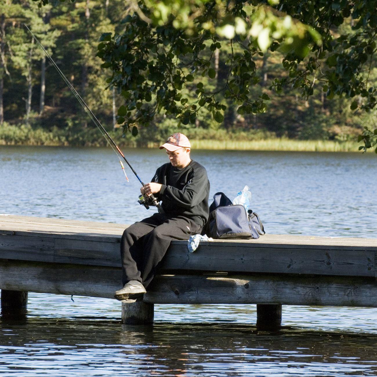 Fiske i Hörle (Lagan, Ruskån, Härån)