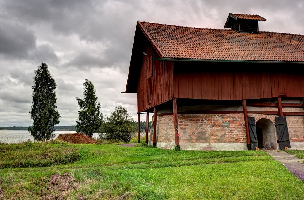 Almviks Tegelbruksmuseum (Almviks alte Ziegelhütte)