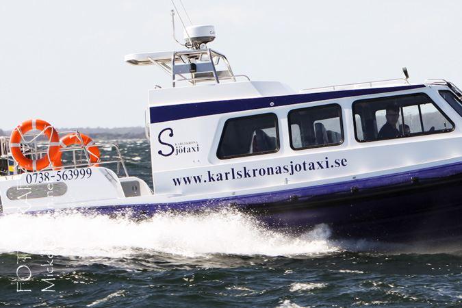 Boat taxi - Karlskrona Sjötaxi