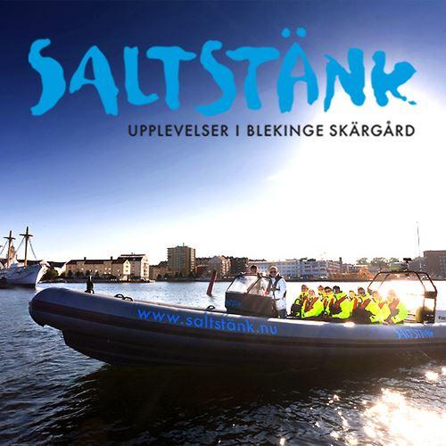 Båt - Saltstänk