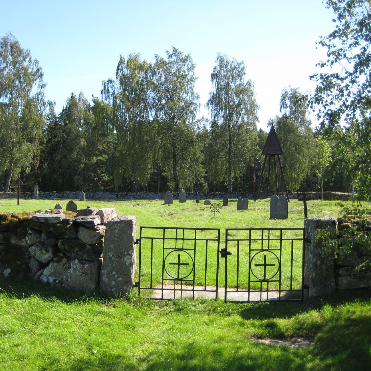 Max Wickman,  © Värnamo Näringsliv AB , Hångers gamla kyrkogård
