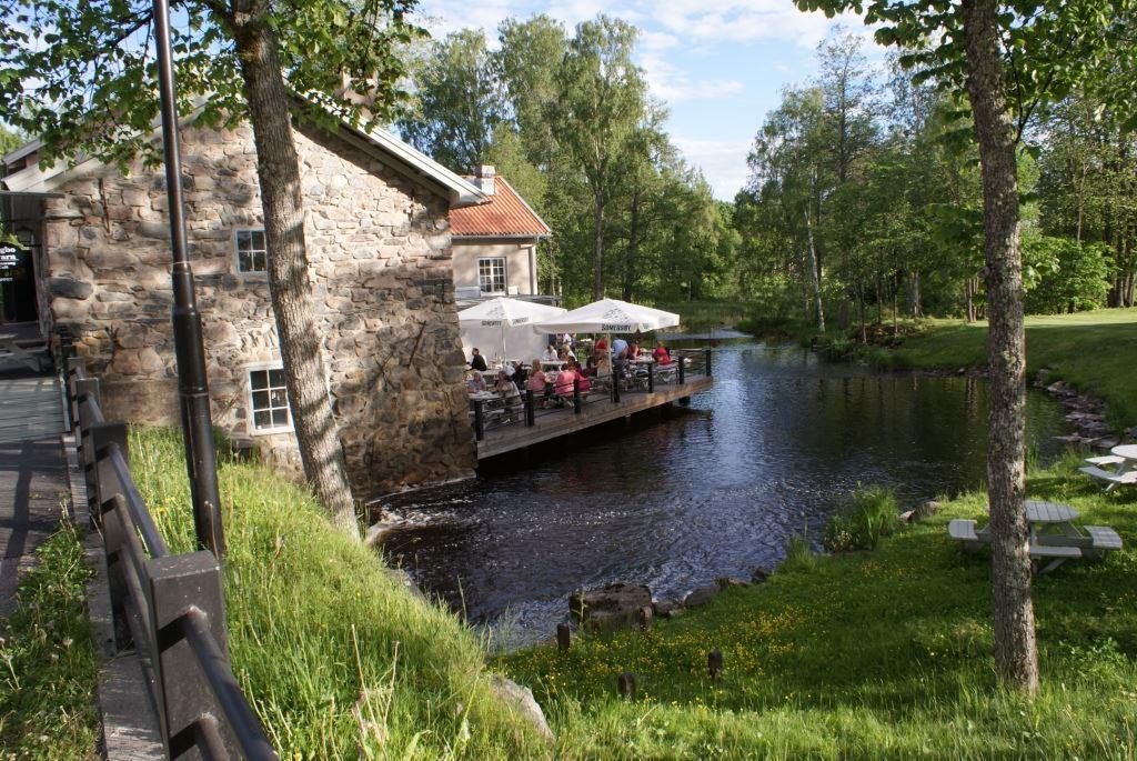 Högbo Qvarn - café