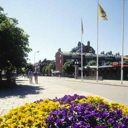 The city centre of Sandviken