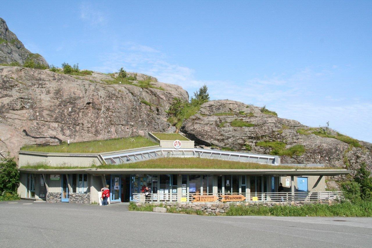 © Norsk Fiskeværsmuseum, Servicehuset på Å