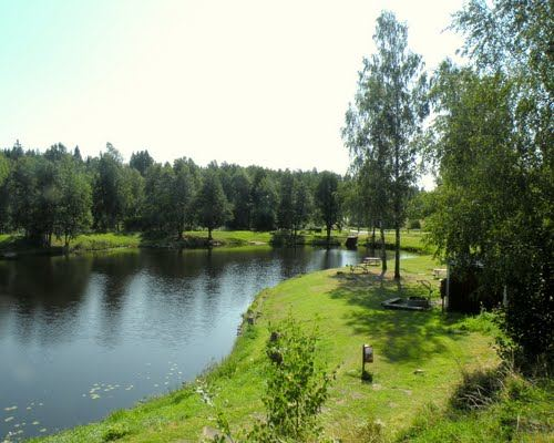 Lindvallska sjön - Lake