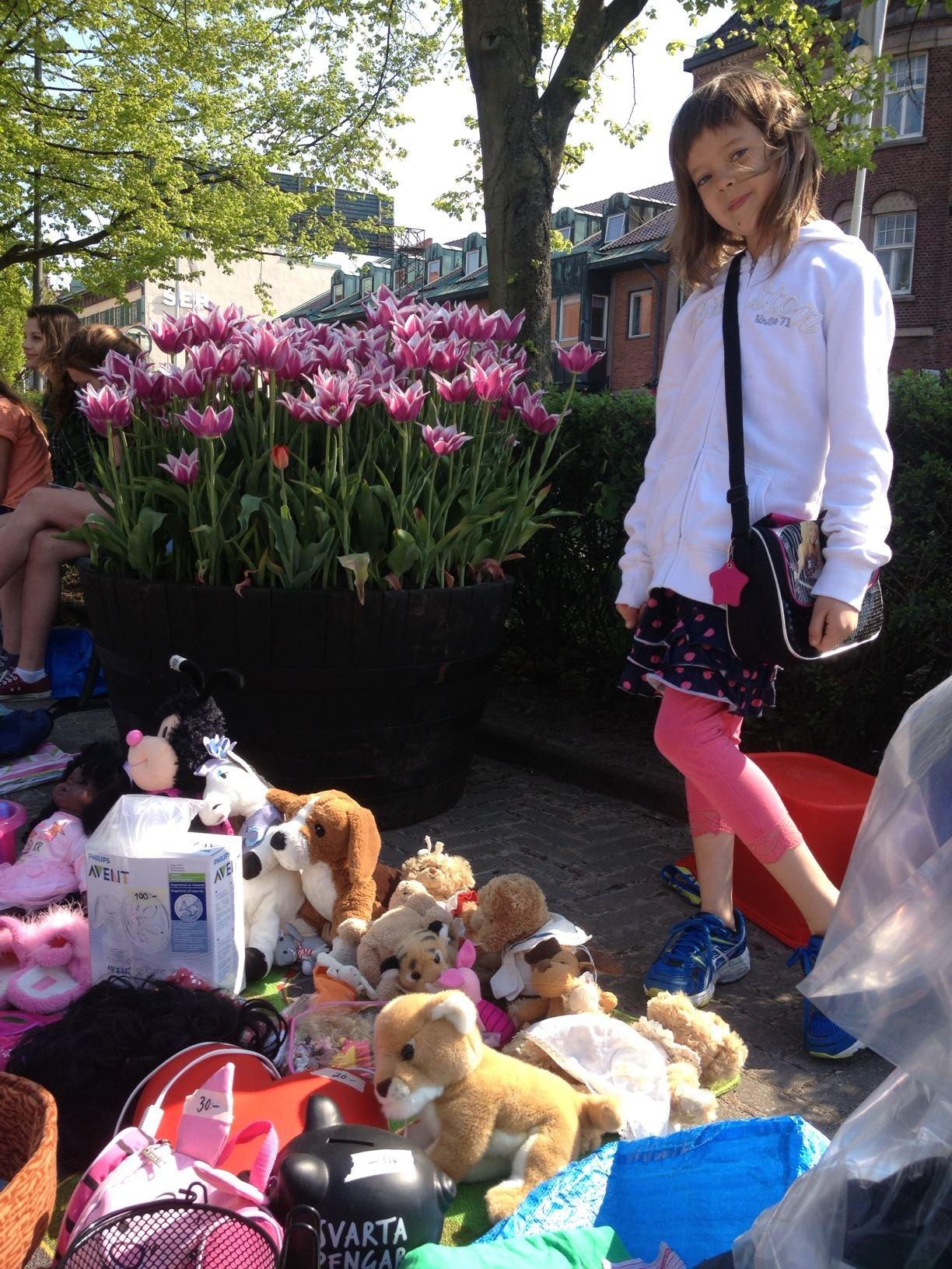Foto:Gabriella Rönnow, Children's Flea market