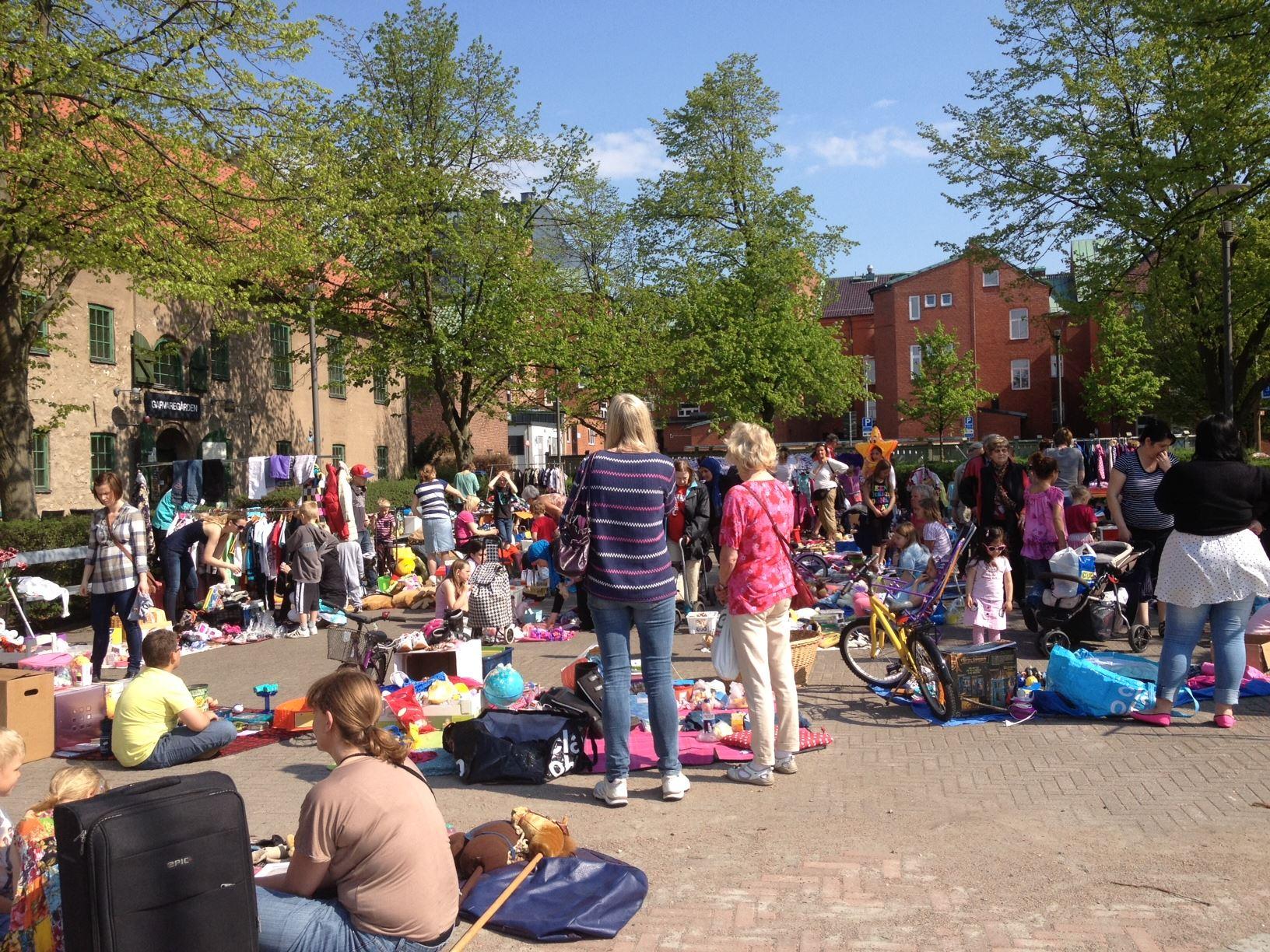 Foto: Gabriella Rönnow, Children's Flea market