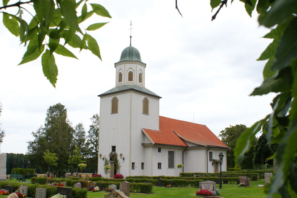 Mathias Eiderhed, Gustav Adolf's church