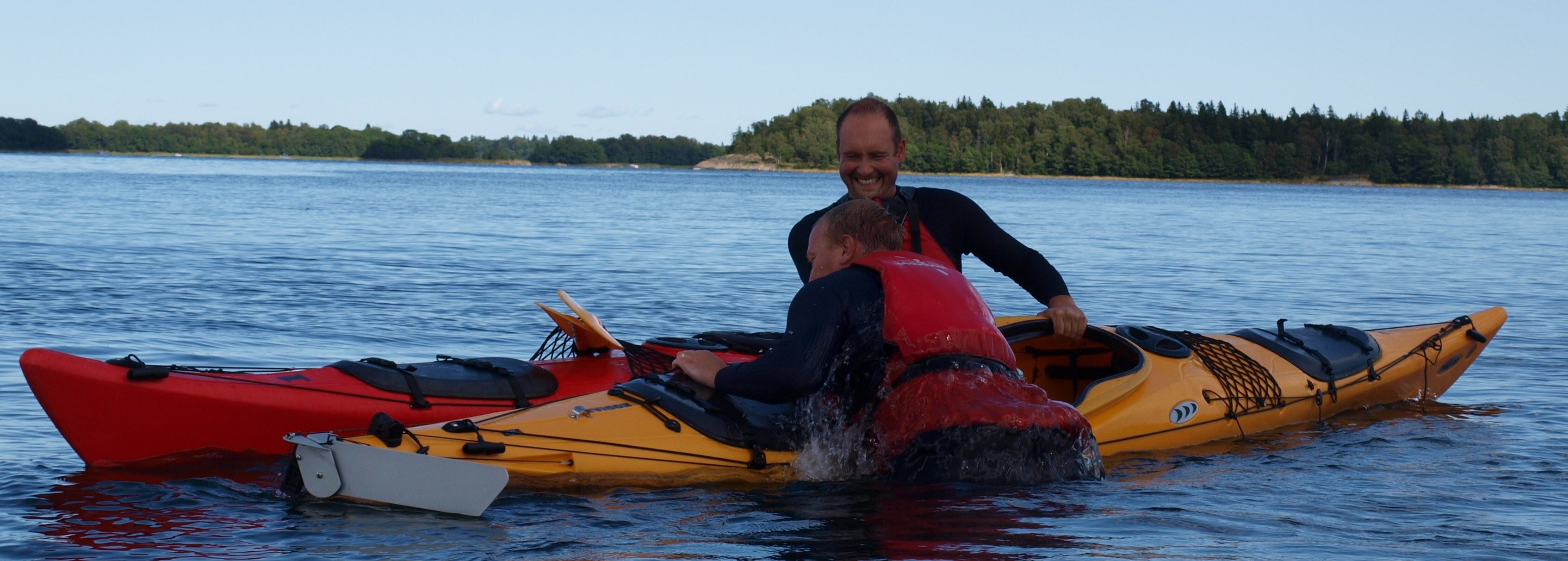 Seakayaking- continuation course in Roslagens archipelago with Kajak och Uteliv